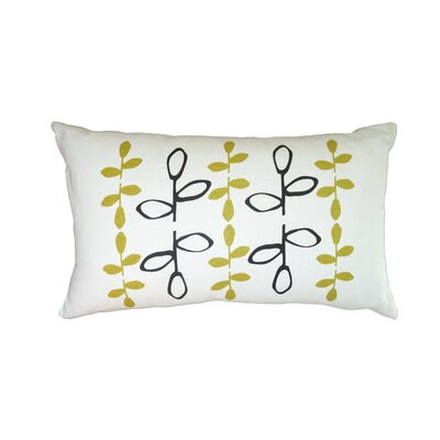 Balanced Design Hand Printed Branch Pillow