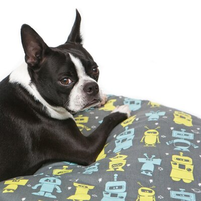 Molly Mutt Mr. Roboto Round Dog Duvet