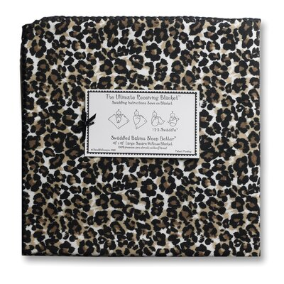Swaddle Designs Ultimate Receiving Blanket® Baby Cheetah