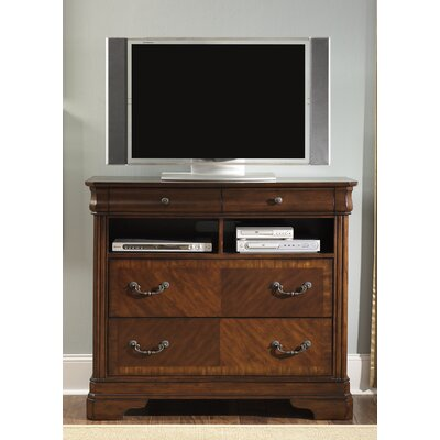 Alexandria 4 Drawer Media Chest