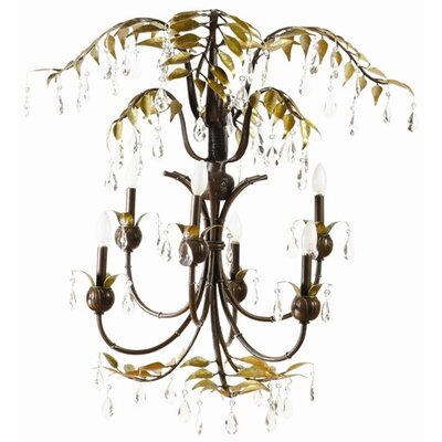 Yosemite Home Decor New Plantation 6 Light Chandelier
