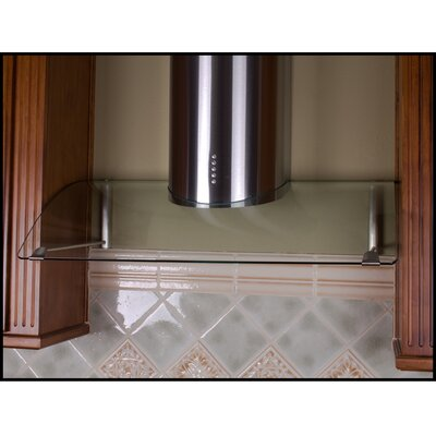 "Yosemite Home Decor Contemporary Series 36"" Stainless Canopy Range Hood with LED Lighting"
