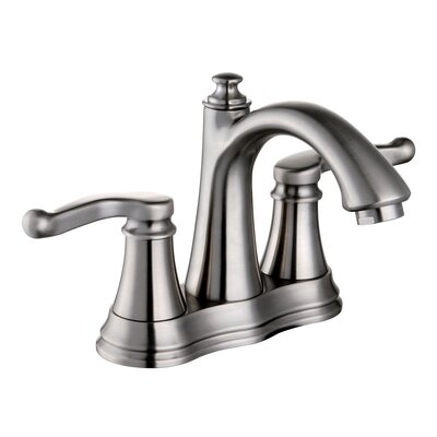 Yosemite Home Decor Centerset Lavatory Faucet with Double Lever Handles