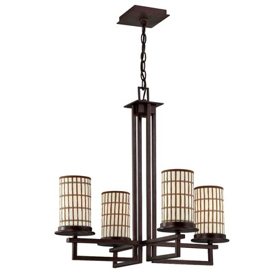 Yosemite Home Decor Sorrel 4 Light Chandelier