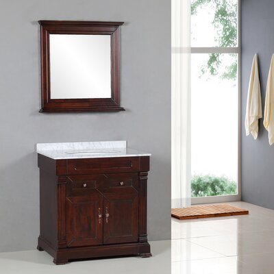 Yosemite Home Decor Transitional 31&quot; Single Standard Bathroom Vanity Set