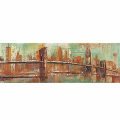 New York View Canvas Art