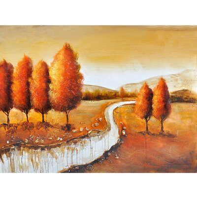 Autumn in New York II Canvas Art