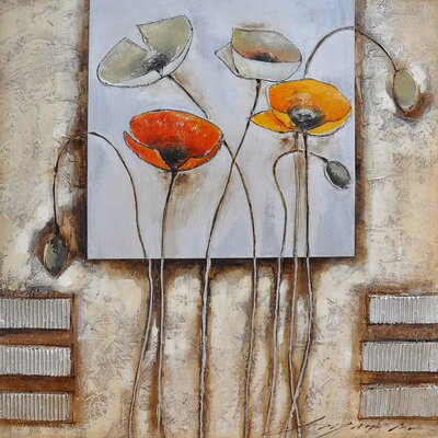 Yosemite Home Decor Poppies for You I Canvas Art
