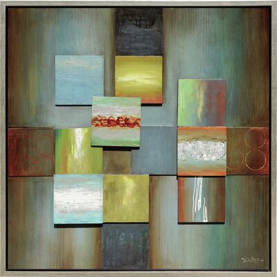 Revealed Artwork What a Square I Canvas Wall Art