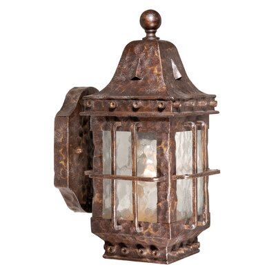 "Vaxcel Edinburgh 5"" Outdoor Wall Lantern"