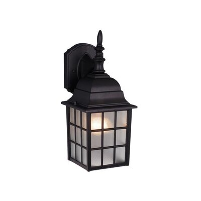 Vaxcel Vista 1 Light Outdoor Wall Lantern