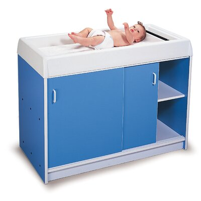 Whitney Brothers Round-Edge Infant Changing Cabinet