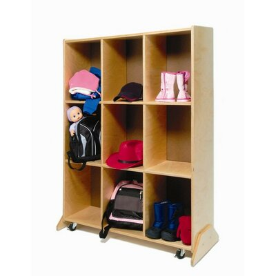 Whitney Brothers Nine Cubby Storage and Teaching Center