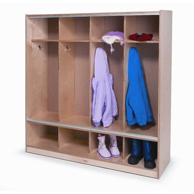 Whitney Brothers Coat Locker with Sliding Doors