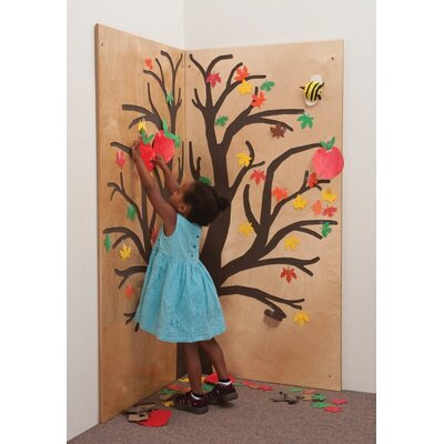 Whitney Brothers Full Wall Left and Right Tree Panel
