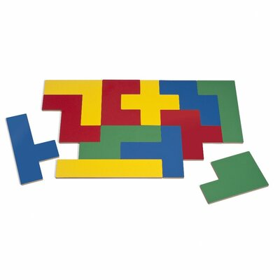 Whitney Brothers Four Color Pentomino Puzzle