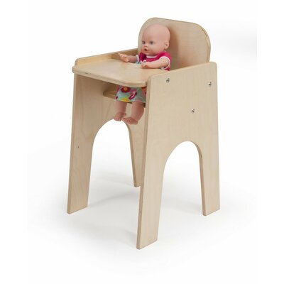 Whitney Brothers Laminate Doll High Chair