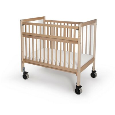 Whitney Brothers Clear View Folding Rail Evacuation Crib