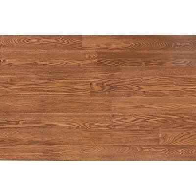 Quick-Step Classic 8mm 2-Strip Oak Laminate in Sienna