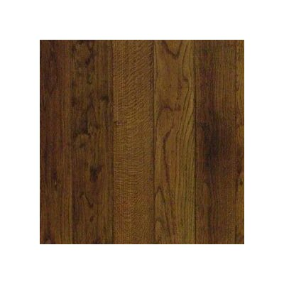 "Anderson Floors Cimarron 5"" Handscraped Solid Red Oak in Chestnut"
