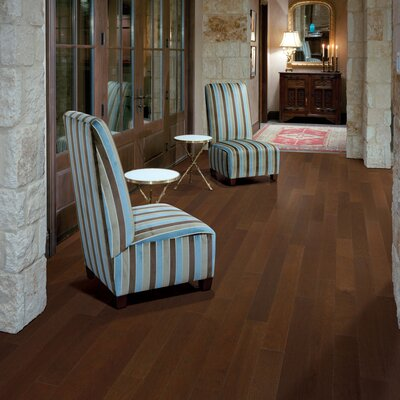 "Appalachian Flooring Presidio 4-1/2"" Engineered Pecan Flooring in Burnt Umber"