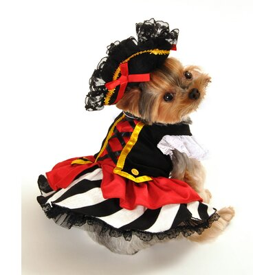 Pirate Girl Dog Costume