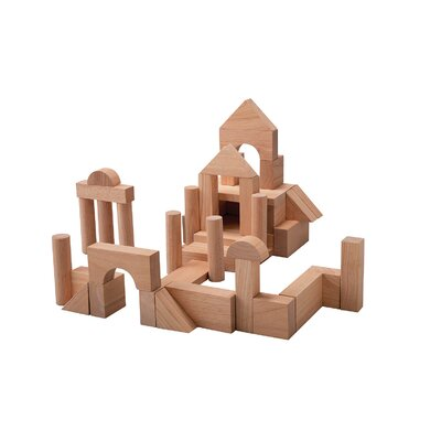Plan Toys Preschool 50 Unit Blocks