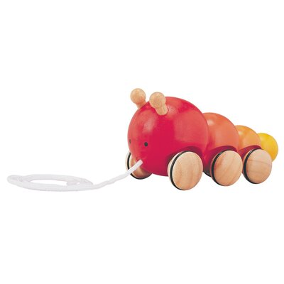 Plan Toys Preschool Pull Along Caterpillar