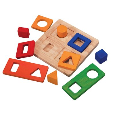 Plan Toys Preschool Shape Sorter
