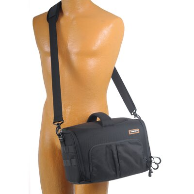 Naneu Correspondent Series C-700 Small Shoulder Bag in Black