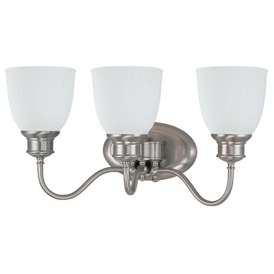 Nuvo Lighting Bella  Vanity Light in Brushed Nickel
