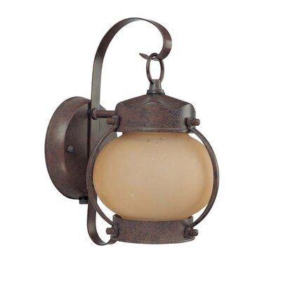 Nuvo Lighting Onion Wall Lantern in Old Bronze