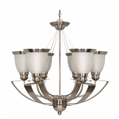 Nuvo Lighting Palladium 6 Light Chandelier