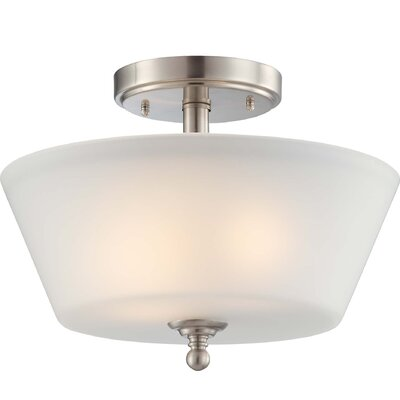 Nuvo Lighting Surrey 2 Light Semi Flush Mount