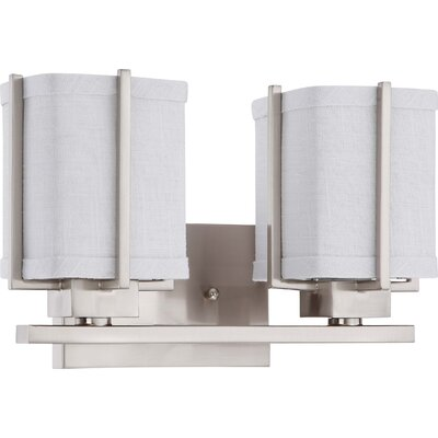 Nuvo Lighting Logan 2 Light Bath Vanity Light