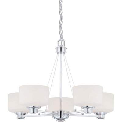 Nuvo Lighting Soho 5 Light Chandelier