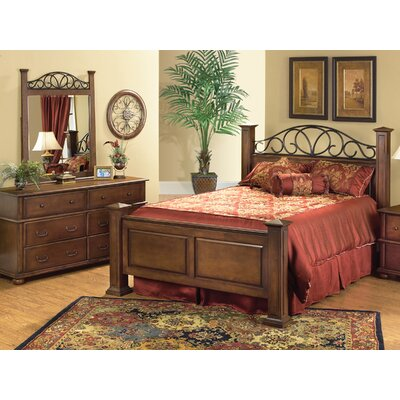 Welton USA Kingsley Panel Bed