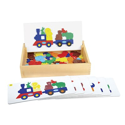 Guidecraft Sort and Match Animal Train