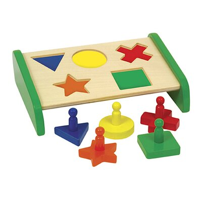 Guidecraft Sort and Match Primary Puzzle Board
