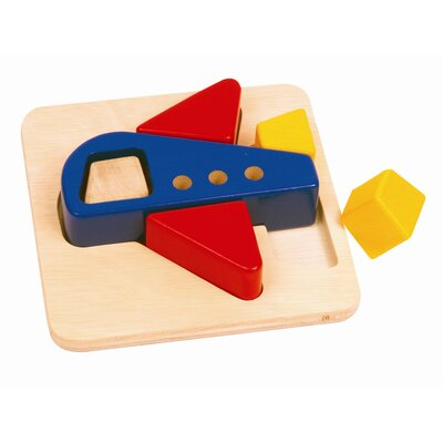 Guidecraft Airplane Primary Puzzle