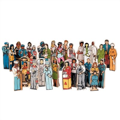 Guidecraft Career Association Figures Set (Set of 30)