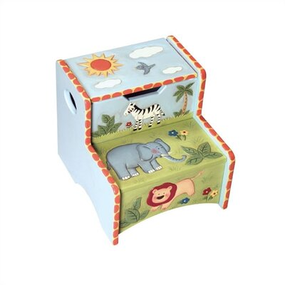 Guidecraft Safari Storage Stool