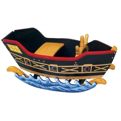 Guidecraft Wooden Pirate Ship Rocker