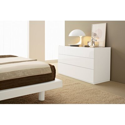 Calligaris City 3 Drawer Dresser