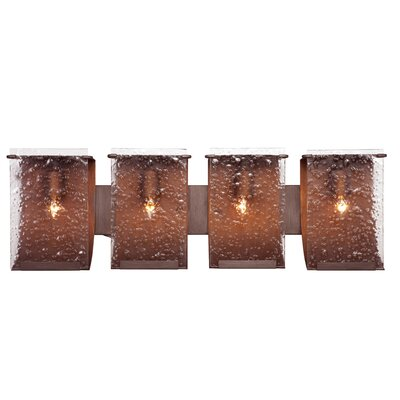 Varaluz Rain Recycled 4 Light Bath Vanity Light