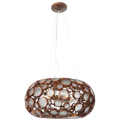 Varaluz Fascination 4 Light Foyer Pendant