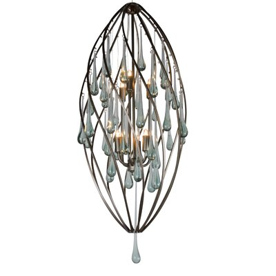 Varaluz Area 51 6 Light Foyer Pendant