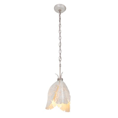 Varaluz Banana Leaf 1 Light Mini Pendant
