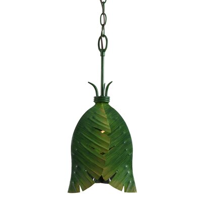 Varaluz Banana Leaf 1 Light Pendant
