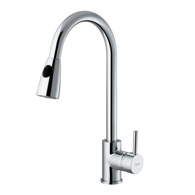 Rodeo One Handle Single Hole Pull Out Kitchen Faucet